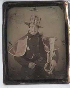 Fireman Daguerrotype Early 1900'S   eBay