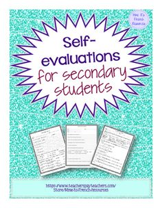 Need a way to encourage kids to take ownership of their learning?A student quarterly self-evaluation is a great way to encourage reflection, set goals, and foster communication between the student, parent, and teacher.  This is great to have for conferences or to start a new semester!This resource includes 3 different documents for upper elementary through high school.The first document is simple and to the point.