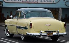 1954 Chevrolet Bel Air 2-dr sedan Donut Derelicts - Huntington Beach, CA