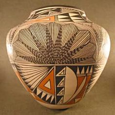 Acoma pottery