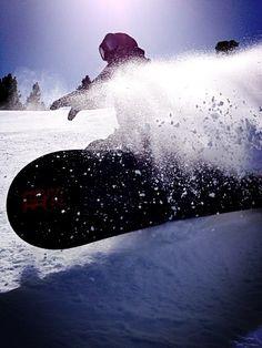 Snow shred #snowboarding #shred #powpow