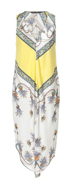 Image 5 of PRINTED DRESS WITH ASYMMETRIC HEM from Zara