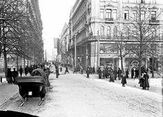 Taxi Sleigh Helsinki 1900