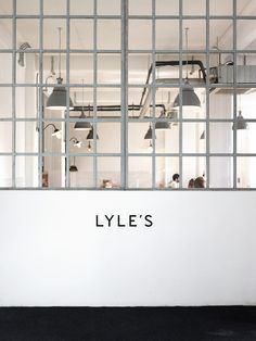 Lyle's + Septime - Cereal Magazine