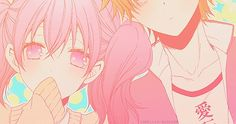 inu x boku ss,kawai,couple,anime,fan art