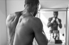 MICHAEL B. JORDAN IS READY FOR THE BOXING RING IN NEW 'CREED' PHOTO!