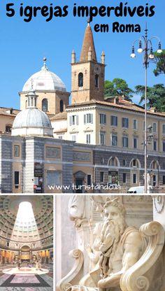 Mais uma dica para quem vai a Roma. Selecionei para este post as 5 igrejas em Roma que considero maravilhosas e imperdìveis, por estarem cheias de obras de arte #roma #rome #wheninrome #igrejas #igrejasemRoma #arte