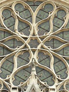 Rosace de la Sainte Chapelle à Vincennes