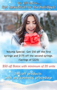 http://www.dermdocs.com/special-offers.html  #skincare #holidayspecials #DANV #centreville