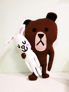 ☃ Plush Toy Preciousness ☃ Bear & His Bunny
