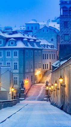 Winter in Prague The Places Youll Go, Places To Go, Beautiful World, Beautiful Places, Places To Travel, Travel Destinations, Winter Scenery, Snow Scenes, Winter Photography