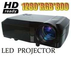 HOT! 5500Lumens projector full hd 3d led projectors 1080p lcd multimedia proyector projektor beamer HDMI USB for home theater  — 12165.41 руб. —