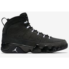AIR-JORDAN-9-ANTHRACITE2.jpg (640×426) ❤ liked on Polyvore featuring shoes, jordans, s h o e s and sneakers