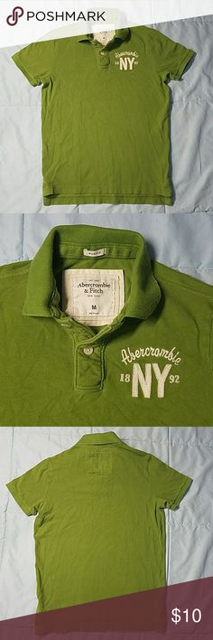 Abercrombie & Fitch (muscle) polo size M Green Abercrombie & Fitch (muscle) polo size M Abercrombie & Fitch Shirts Polos