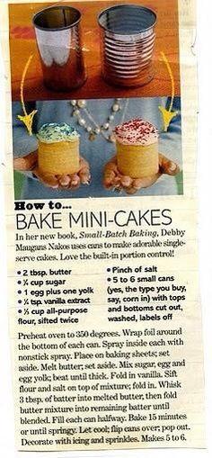 .Kuchen aus der Dose