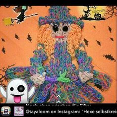 Rainbow Loom Bands, Halloween, Fictional Characters, Art, Art Background, Kunst, Performing Arts, Fantasy Characters, Spooky Halloween