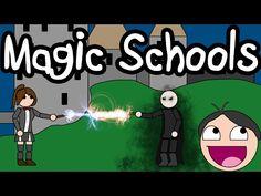 MAGIC SCHOOLS - Terrible Writing Advice - YouTube