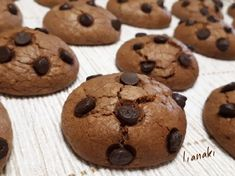 Candy Recipes, Cookie Recipes, Biscuit Bar, Greek Sweets, Cookie Cups, Chocolate Chip Cookies, Bakery, Food Porn, Food And Drink