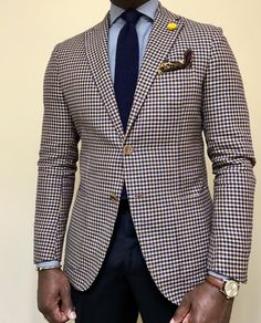 Trendy Mens Fashion, Mens Fashion Wear, Blazer Fashion, Suit Fashion, Stylish Men, Fashion Outfits, Blazer Outfits Men, Color Combinations For Clothes, Designer Suits For Men
