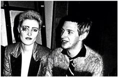 Siouxsie Sioux and Steven Severin, 1976.