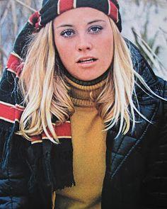 Cybill Shepherd 1969 - Clothing ad