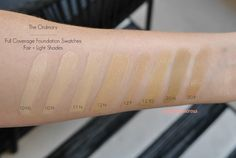 The Ordinary   Review of the $7 Coverage Foundation + Swatches of Fair/Light Shades
