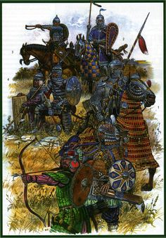 Mongol warriors 13th/14th c.