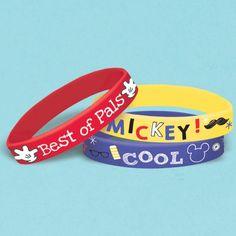 Bracelets Mickey Roadster Racers (6/par paquet) - Castello   Jeux et Jouets