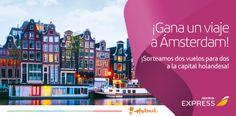 ¡Apúntate y ayúdame a ganar un vuelo a #Ámsterdam @iberiaexpress!