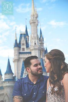 Walt Disney Magic Kingdom Engagement Session