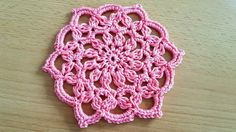 Crocheted motif  59