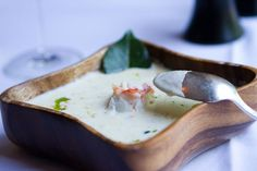 "Chef Vosika's ""signature soup"". Click here to see recipe. #FSFoodie"