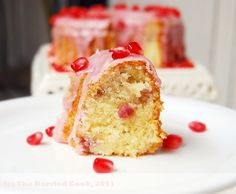 Ahuvah's Pomegranate Cake .. #rosh hashana