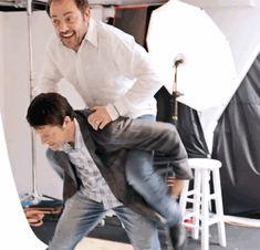 Misha and Mark *^*