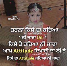 Attitude Status, Attitude Quotes, Me Quotes, Punjabi Love Quotes, Picture Quotes, Quotations, Broken Hearted, Sad, Angel