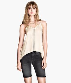 H&M Top with lace $29.95