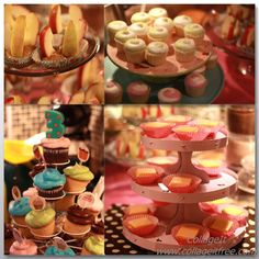 Cupcake-themed birthday party!