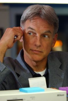 """""""...team leader is the fearless Special Agent Leroy Jethro Gibbs.  Former Gunnery Sergeant, Marine sniper, coffee aficionado and functional mute."""" -NCIS 7.1 """"Truth or Consequences""""   <3"""