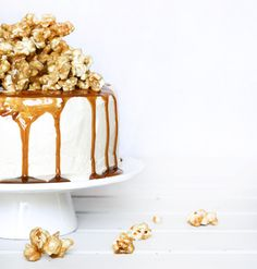 ... caramel popcorn cake ...w.t......yum