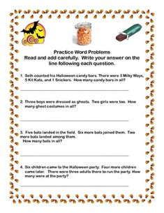 math worksheet : superlative adjectives worksheets  worksheets : Halloween Math Word Problems Worksheets