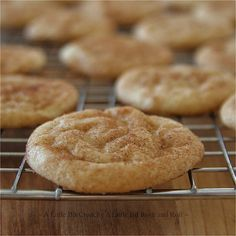 A Little Bit Crunchy A Little Bit Rock and Roll: The Best Snickerdoodle Cookies... Ever