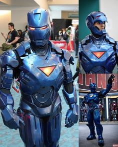 fiberglass stealth ironman armor with motorized faceplate