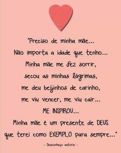 ♥ Minha mãe ♥