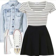 Perfect For The Summer ; This Outfit Is Cute But Casual !