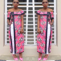 Hello Gorgeous, We are a sucker when it comes to fashion, and we do not shy away from beautiful Aso Ebi outfits. The revamped Aso Ebi outfits have come to give us a run for our money and we are no… Latest African Fashion Dresses, African Print Dresses, African Print Fashion, Africa Fashion, African Dress, Kente Styles, Aso Ebi Styles, African Tops, African Women