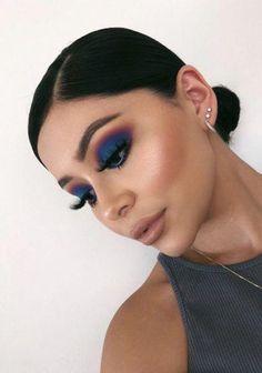 Gorgeous Makeup: Tips and Tricks With Eye Makeup and Eyeshadow – Makeup Design Ideas Kiss Makeup, Cute Makeup, Glam Makeup, Gorgeous Makeup, Makeup Looks, Makeup Style, Cute Eyeshadow Looks, Makeup Trends, Makeup Inspo