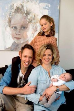 Photo of Kim Clijsters & her Son  Jack Leon Lynch
