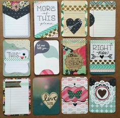 handmade Project Life card set | Its Time For DIY