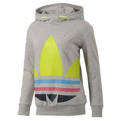 Moletom Neon, Medium Grey Heather