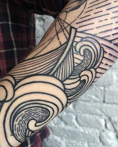 Love the line work.